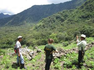 Surveying Farmers on the Farm in Guatemala
