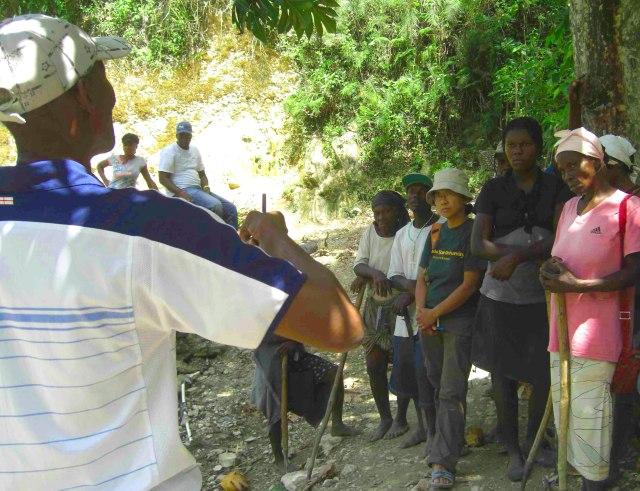 On the Ground in Haiti Researching Deforestation