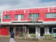 Storefronts in Nairobi