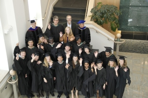 Graduation photo from our 4th cohort of students