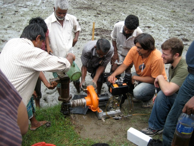 SEED Pumpset Demo with Villagers