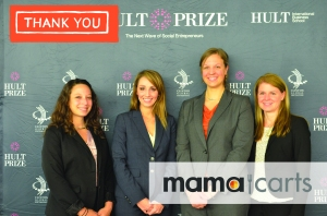 MamaCarts Co-Founders (from left to right): Lindsay Saperstone, Meghan Coleman, Rachael Miller, Jeannie Whitler