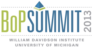 BoP Summit 2013 Logo