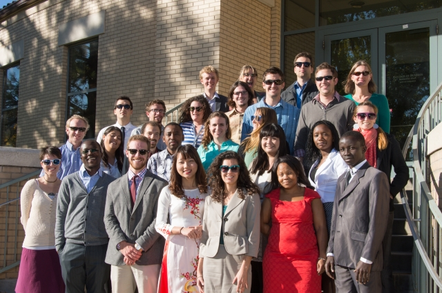 The 2013 Global Social and Sustainable Enterprise MBA Candidates at Colorado State University