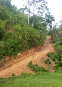 One of Luciernaga's distribution routes in Honduras
