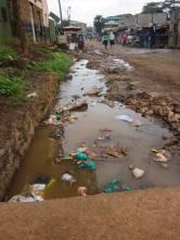 Gatina Slum in Nairobi