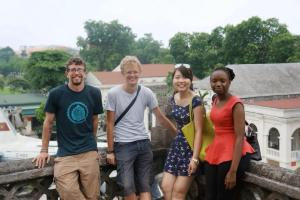 Alistair with Second Chance Vietnam founders- Kirk Reimann, Quynh Anh and Ruth Kariuki.