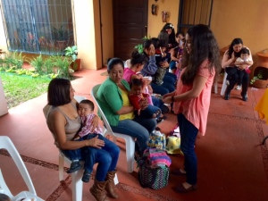 Jolt co-founder Andreana Castellanos conducting a focus group in Guatemala