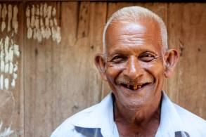 A traditional healer in the Kurunegala District