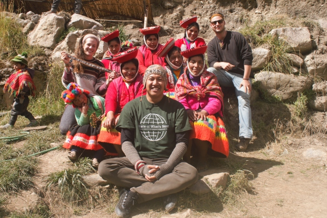 Fair Fibers visiting weavers in the altiplano of Peru
