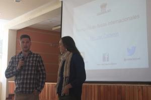 Fair Fibers presenting at universities in Lima