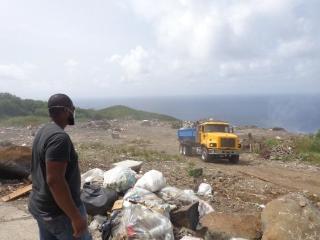 Open Landfill: Virgin Gorda, BVI