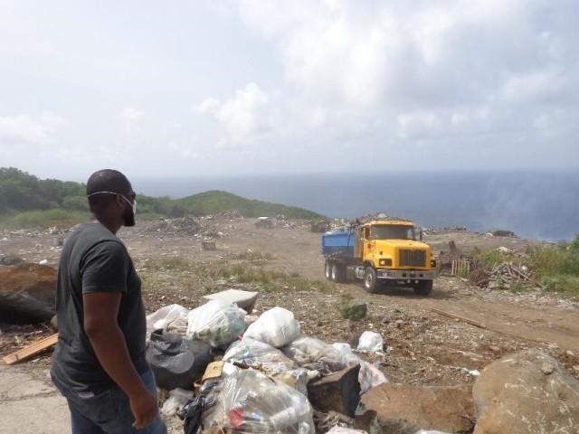 Open Landfill: Virgin Gorda, BVI