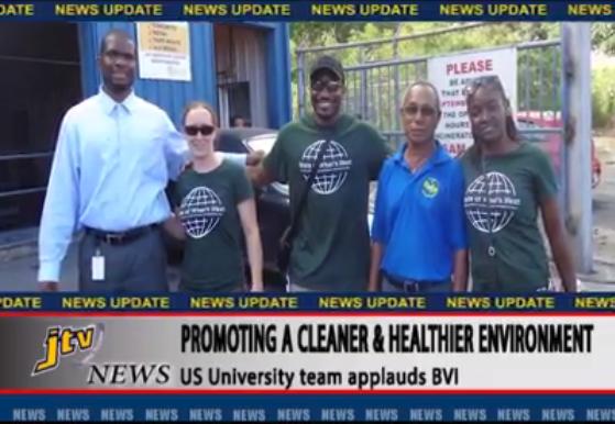 The team was interviewed by JTV: Tortola, BVI