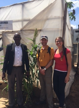 Team FarmRise meeting with stakeholders in the agricultural supply chain in Kenya