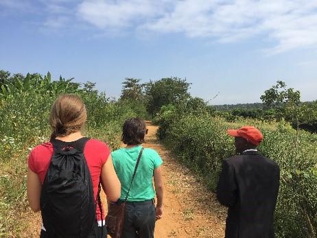 Team FarmRise experiencing a Kenyan farm first hand.